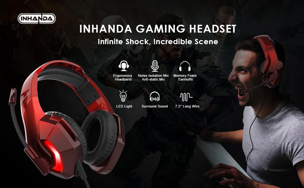 INHANDA XBOX ONE gaming headset
