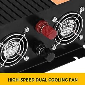 Vevor 230v Reiner Sinus Wechselrichter Spannungswandler 2500w Reiner Sinuswellen Wechselrichter 24v Dc Pure Sine Wave Power Reiner Sinus Wechselrichter Spannungswandler Baumarkt