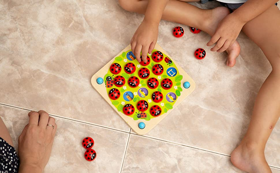 3 4 5 6 7 juego para niños tablero