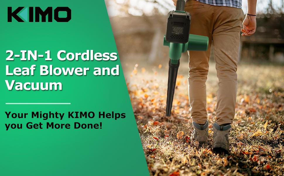 kimo handheld leaf blower