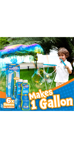 Giant Bubble Wands with 2 Bubble Refill Solution