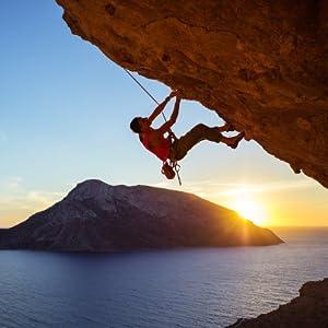 Knowing Cuerda Escalada al Aire Libre, Cuerda Escalada Cuerda Servicio Pesado, con 2 Mosquetón, para Usos al Aire Libre Supervivencia Emergencia, ...
