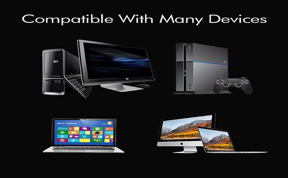 Large compatibilité