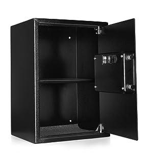 medication forms recordkeeping money handling snap safe big large shelf shelve organizer