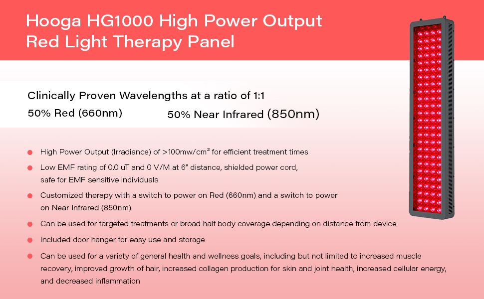 red light therapy 660nm 850nm joovv platinum mitored mitochondria skin health pain relief anti aging