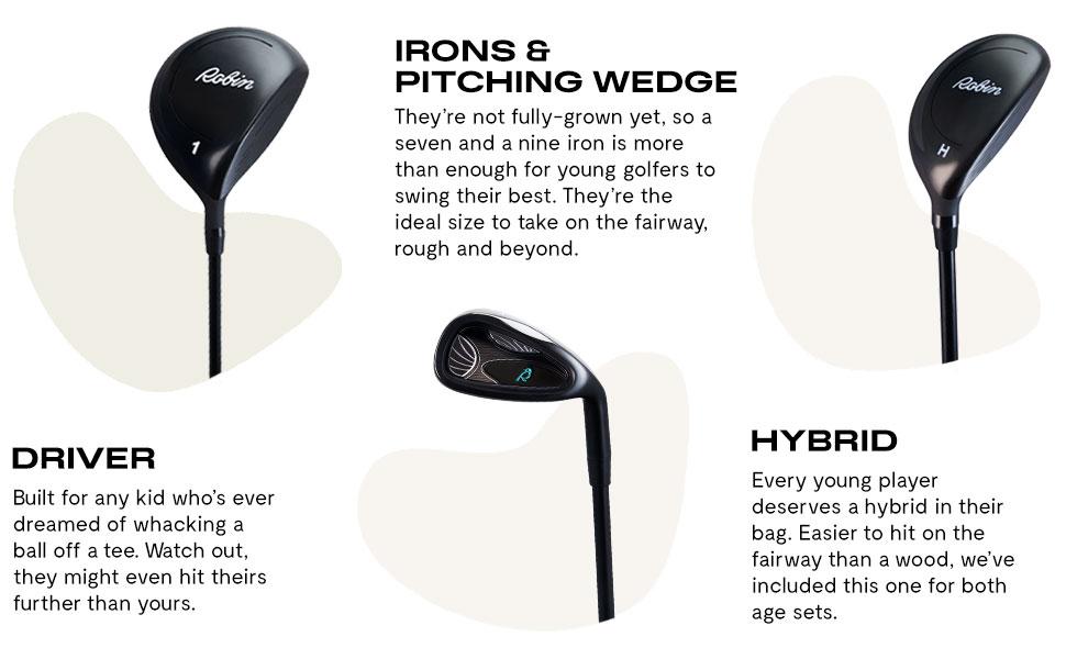 best beginner golf clubs, boys beginner golf clubs, starter golf clubs for kids, starter golf clubs