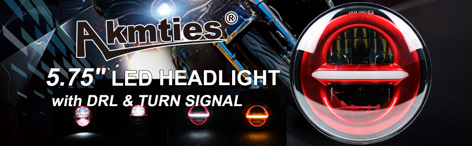 DRL headlight harley daymaker