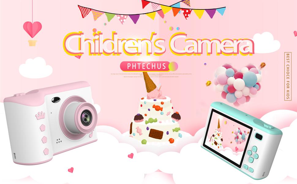 Kinder Digitalkamera für Kleinkinder Mädchen Spielzeugkamera Kinder Video Kamera Kinder Camcorder