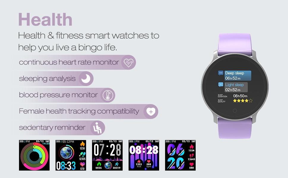 waterproof smart fitness tracker