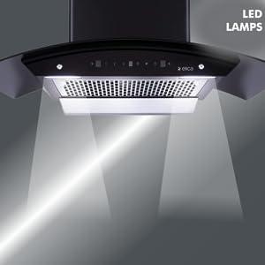 Elica 90 cm 1200 m3/hr Filterless Auto Clean Chimney SPN-FOR1