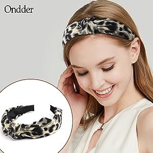 Leopard Headbands