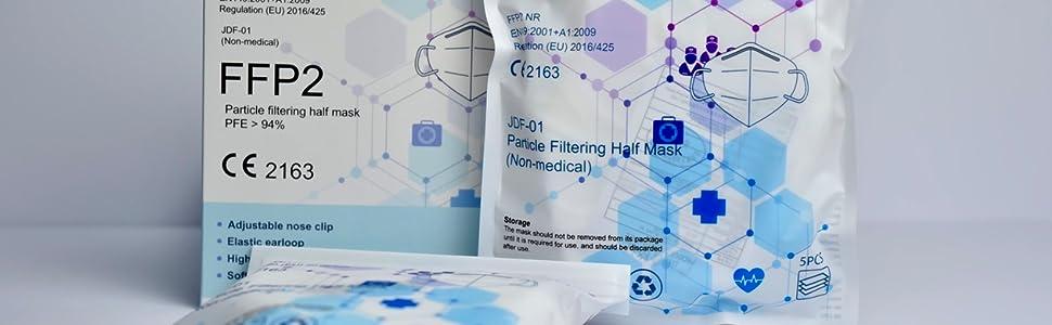 FFP2 masque jetable CE certfie