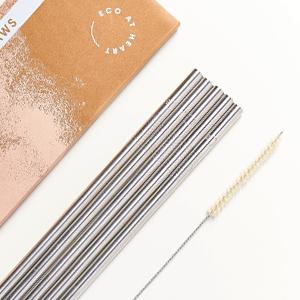 Smoothie straws plastic free
