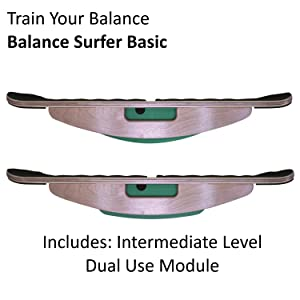 balance surfer balance board wobble whirly training surf sup exercise fitness standing desk yoga