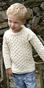 C311, Aran Crafts, Boys sweater
