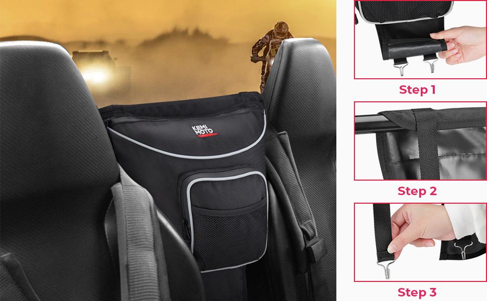 rzr center seat bag