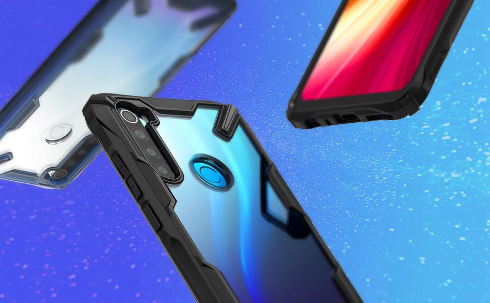 Ringke Fusion-X Disegnato per Custodia Xiaomi Redmi Note 8 Xiaomi Redmi Note 8