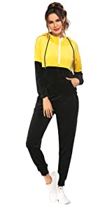 2 Piece Jogging Suits Classic Casual Sweat Sweatsuits