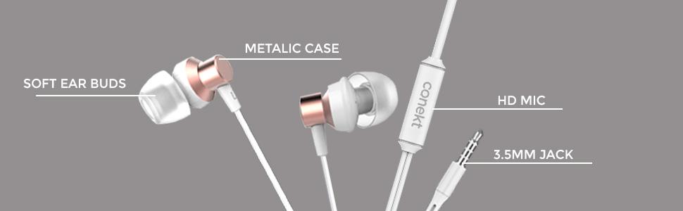 Pop earphone details