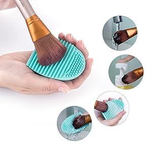 brush cleaner pad