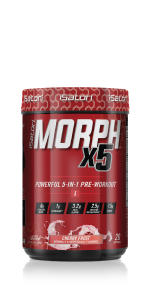 Intense 5 in 1 pre-workout for improved strength, power and performance