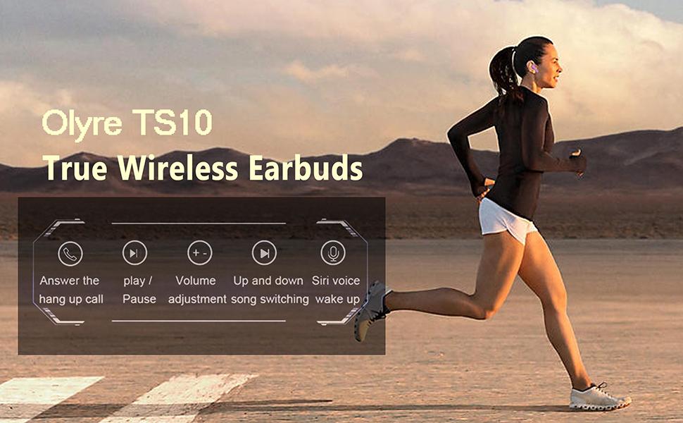wireless earbuds sport workout fitness running jogging
