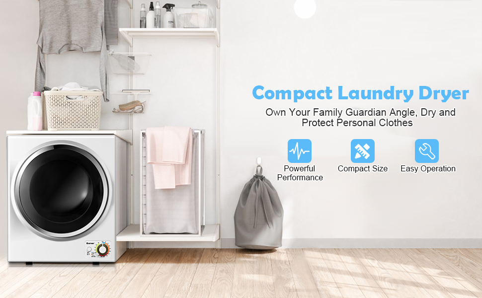Electric Portable Clothes Dryer
