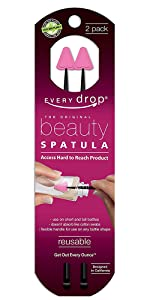 Every Drop Beauty Spatula two pack