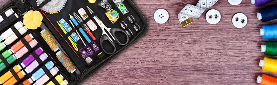 sew sewing sowing repair travel kit kits emergency mending stitching vellostar deal christmas xmas