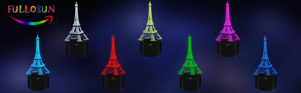 FULLOSUN 3D LAMP