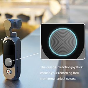 Quiet 4-direction Joystick