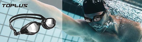 TOPLUS Swimming Goggles