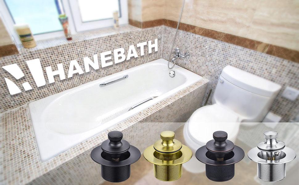 bronze tub drain kit