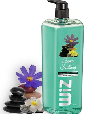 wiz body wash paradise lily liquid soap