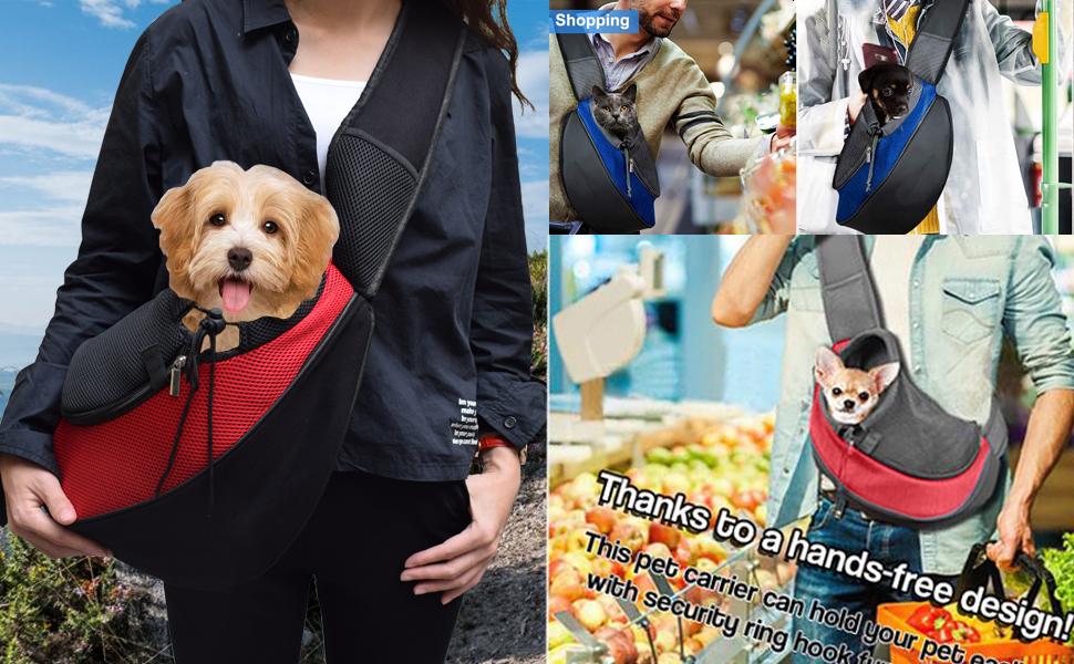 pet carrier sling bag