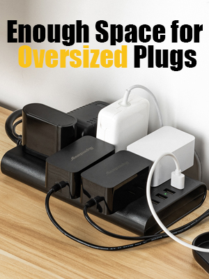 Multi Outlet Strip USB Surge Protector