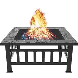 Feuerkorb Fire Pit für BBQ Heizung
