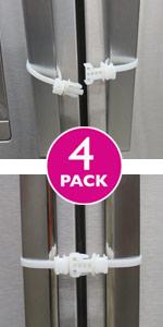 child safety cabinet latch lock door childproof baby strap handle knob kid toddler home refrigerator