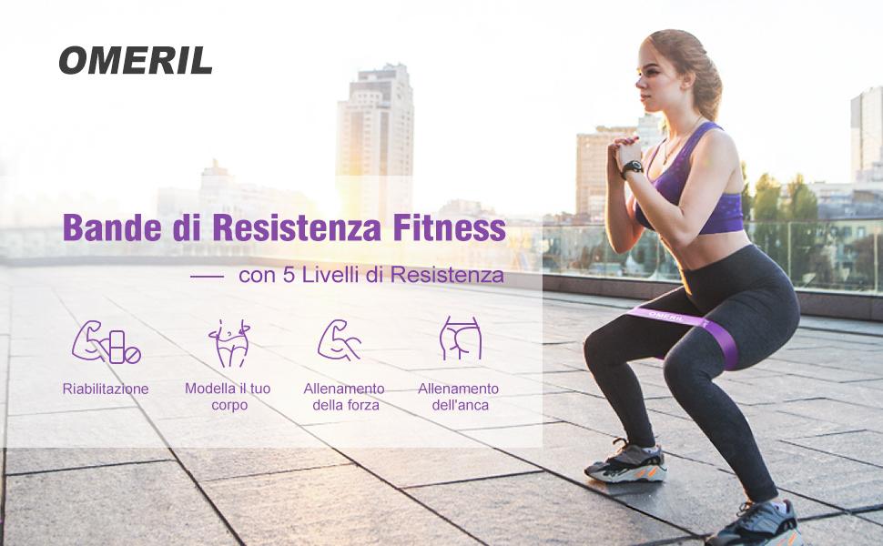 Elastici Fitness (Set di 5)