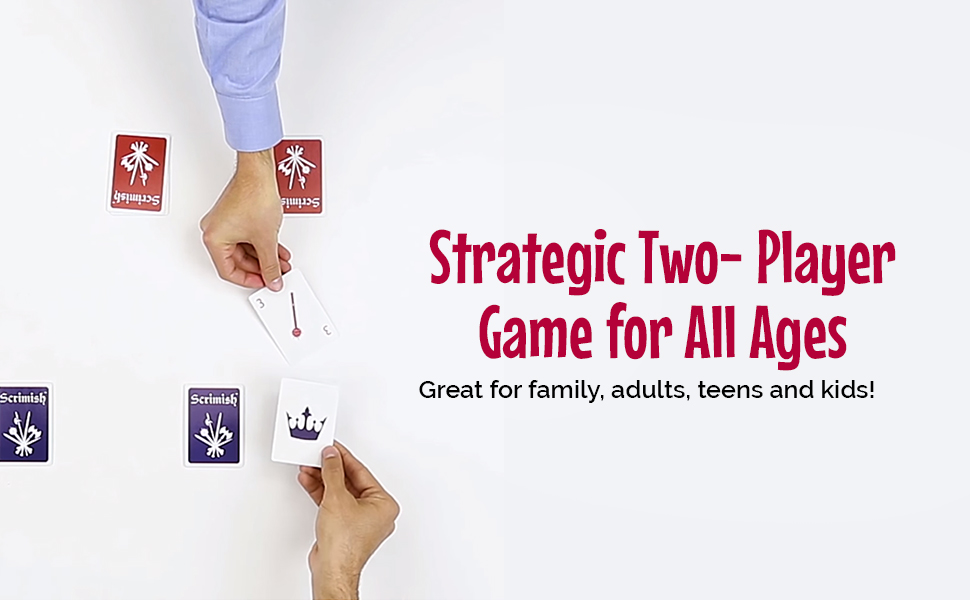 strategic two player game for all ages