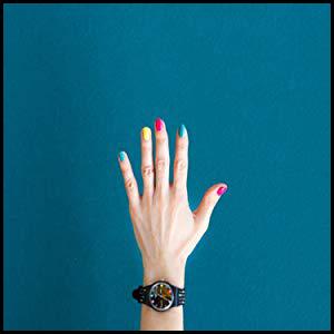 Pcs/set French Nails Nail Art Pre-design Acrylic Fake Nail Classical Full Cover Short White Manicure