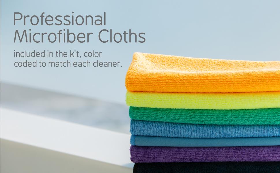 Professional Microfiber Cloths