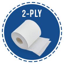 2-ply sheet stron tp toilet paper toiletpaper papel baño hygine