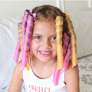 Rizadores de pelo rizos en espiral