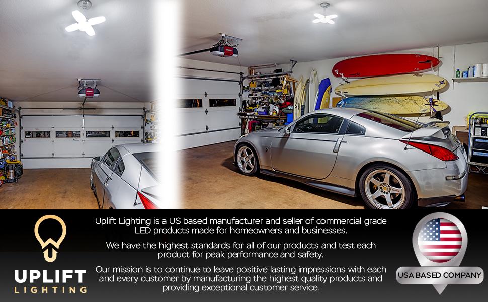 Iluminación Uplift 6000 lúmenes de luz LED deformable Imágenes e información de marca