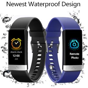 waterproof activity tracker