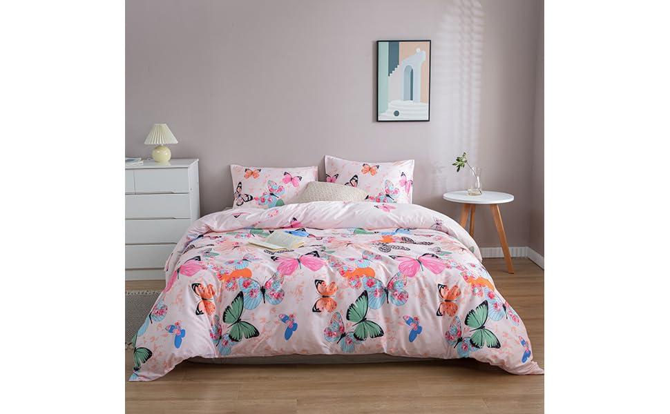 Beddinghouse Enfants Linge De Lit Kids Butterfly Girl Pink