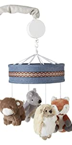 Play Day Musical Mobile levtex baby woodland