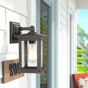 outdoor wall lights