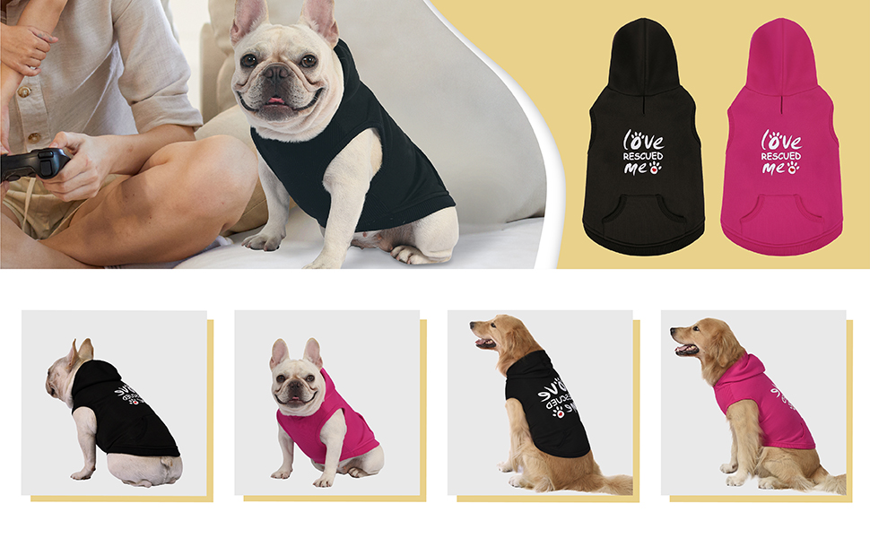 small dog clothes puppy clothes cat hoodie cat sweater dog sweatshirt french bulldog clothes